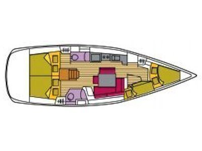 Oceanis 43 (Silly Shark (GND)) Plan image - 9