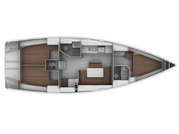 Bavaria 40 Cruiser (Emily-Refit 2020) Plan image - 2