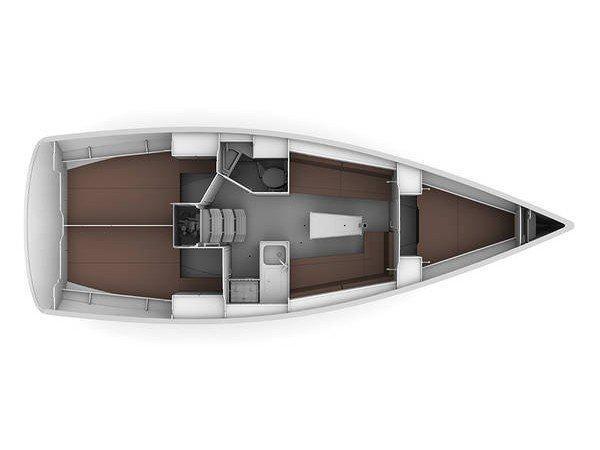 Bavaria Cruiser 34 (Merak) Plan image - 1