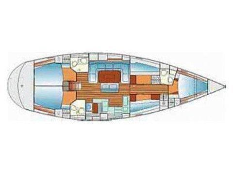 Bavaria 50 cruiser  (Portugizac) Plan image - 2
