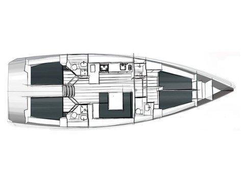 Bavaria 45 cruiser (Paso Doble) Plan image - 3