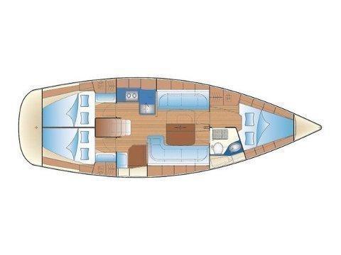 Bavaria 38 Cruiser (Boem) Plan image - 12