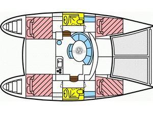 Lagoon 380 S2 (Karla II) Plan image - 17