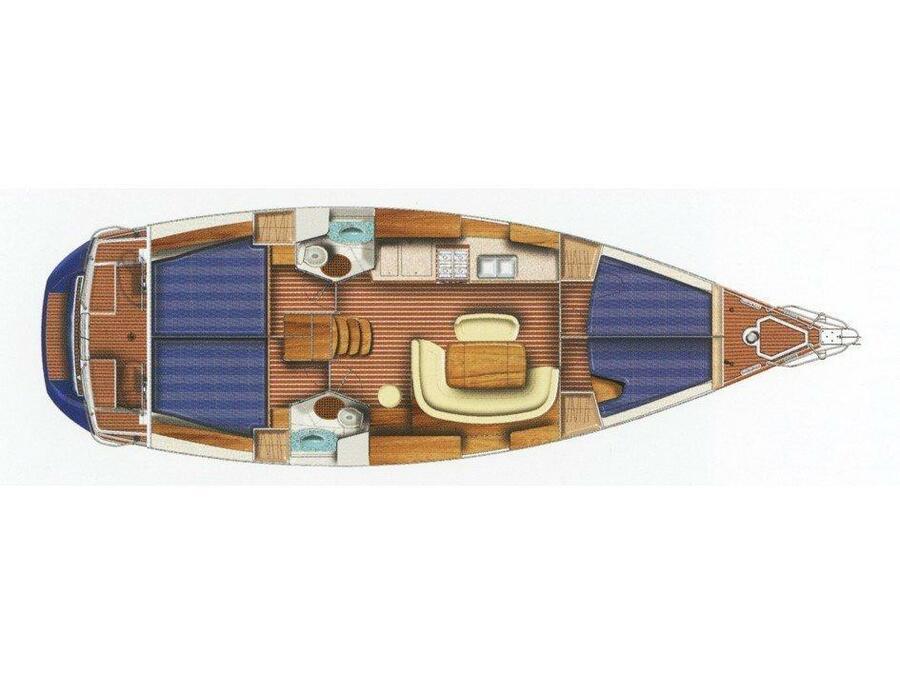 Sun Odyssey 45 (Sea Dream) Plan image - 2