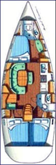Oceanis 393 C (HAWK) Plan image - 4