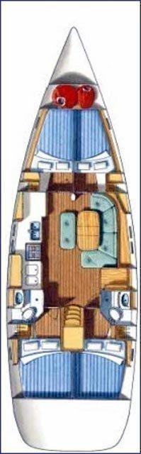 Oceanis 473 C (WOTAN) Plan image - 4
