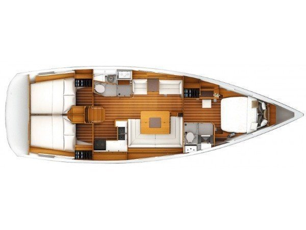 Sun Odyssey 449 Ownerversion (Fabiano II) Plan image - 3