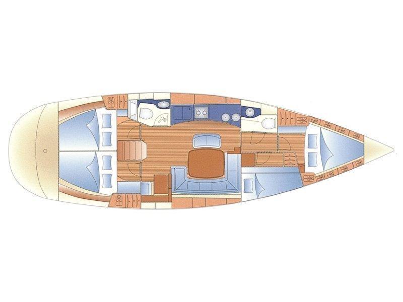 BAVARIA C 46 BT (05) (MAESTRAL) Plan image - 6
