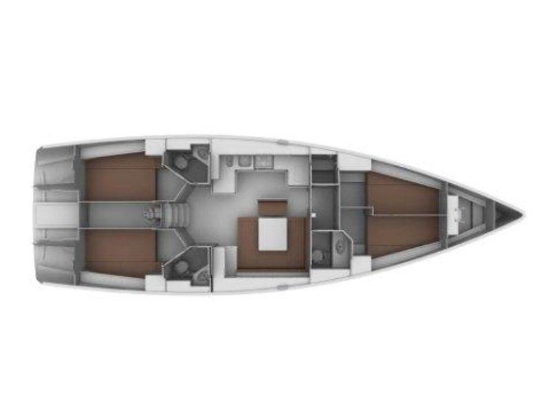 BAVARIA C 45 BT (SOPHIA) Plan image - 2