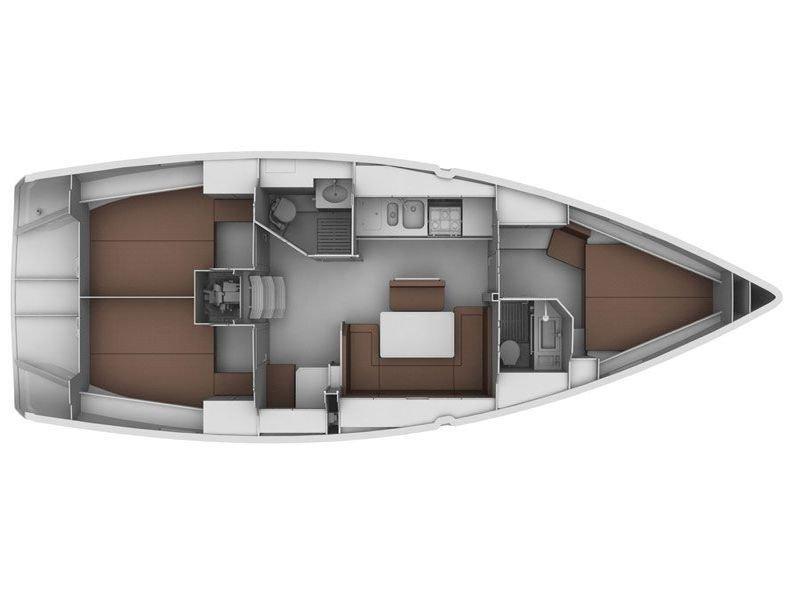 BAVARIA C 40 BT (MARISA) Plan image - 9