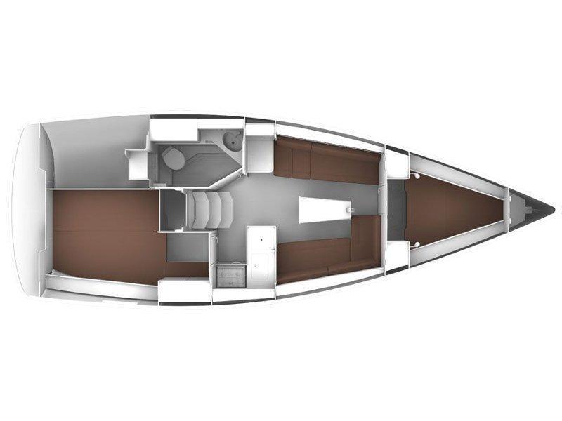 BAVARIA C 33 (MIRELLA) Plan image - 6