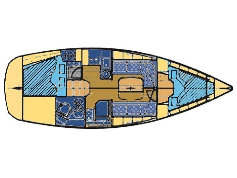 BAVARIA 33 C (FRANA) Plan image - 6