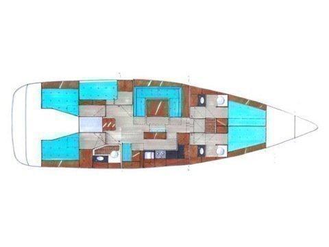 Bavaria Cruiser 50 (Zaurak) Plan image - 4