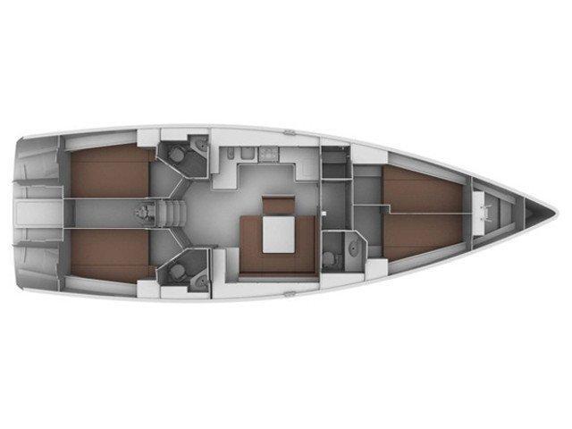 Bavaria Cruiser 45 (Hydra) Plan image - 7