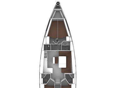 Bavaria Cruiser 46 (Fenice) Plan image - 1