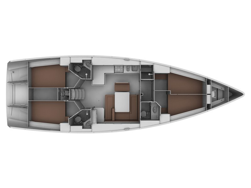 Bavaria 45 Cruiser (Cloe - Solar Panel) Plan image - 15