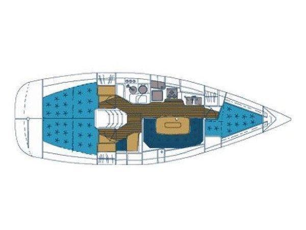 Elan 36 (Maja-sails 2016) Plan image - 2