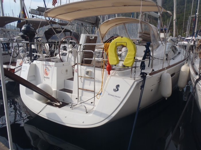 Beneteau Oceanis 43 (Diva) pic_Heck - 1