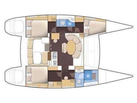 Lagoon 380 (Magikal) Plan image - 31