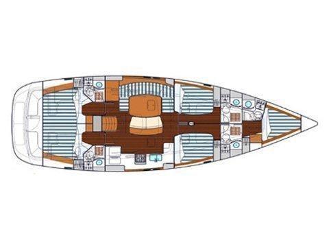 Beneteau Oceanis 523 (Cobra Murra) Plan image - 17
