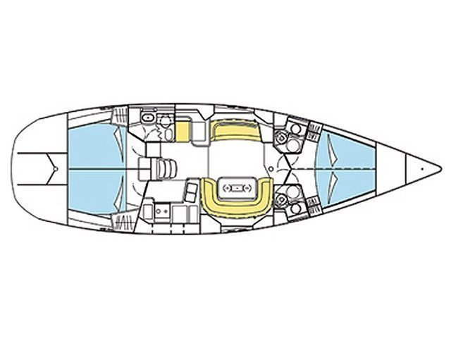 Sun Odyssey 49 DS (Sea Dancer ) Plan image - 7