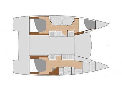 Lucia 40 (Le Floreanne) Plan image - 1