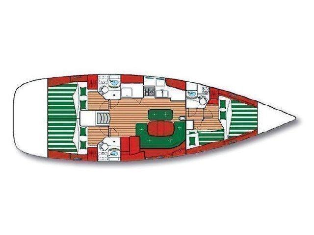 Oceanis 473 C (WOTAN) Plan image - 2