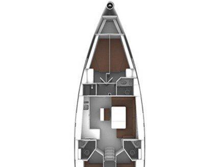 Bavaria Cruiser 46 (Rigel) Plan image - 2