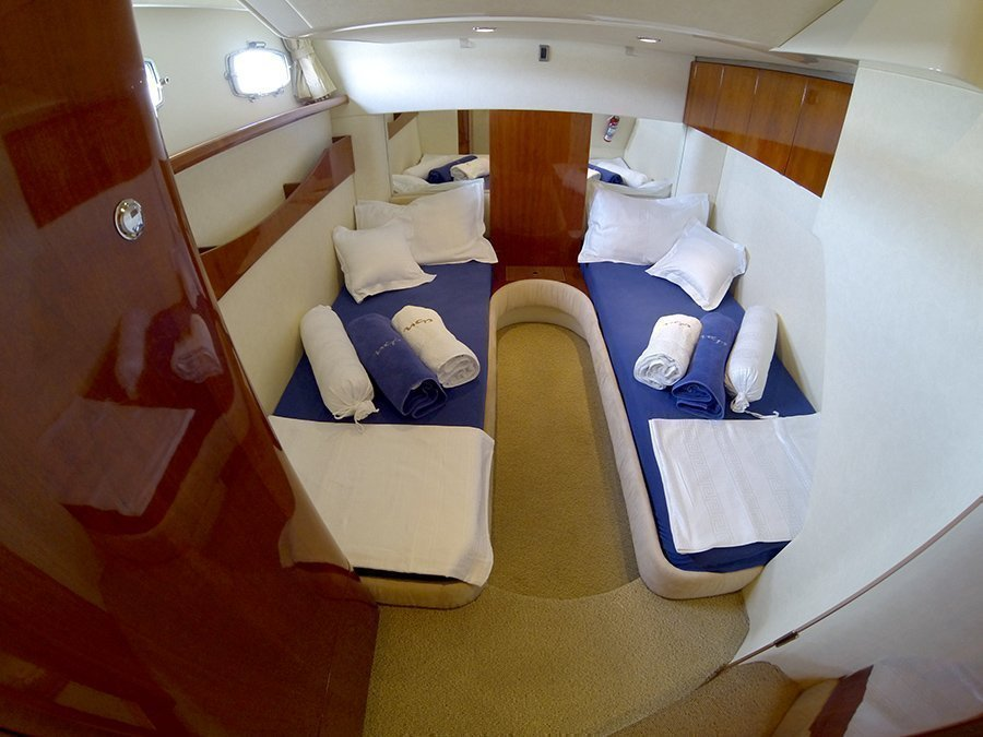 Fairline Targa 52 GT (The Blue One) Aft cabin twin beds - 14