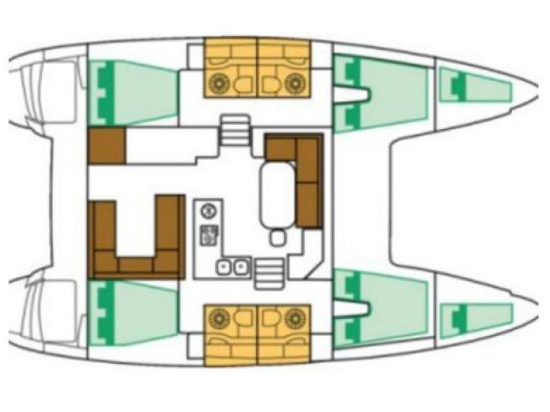 Lagoon 400 S2_2016 (SY_2028) Plan image - 4