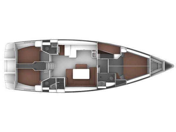 Bavaria Cruiser 51 (YOLO) Plan image - 4