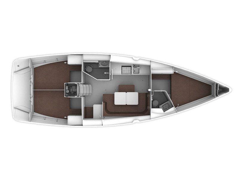 Bavaria Cruiser 41 (Konstantinos 14) Plan image - 2