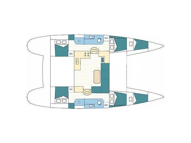LAGOON 39 (DIRIDONDA) Plan image - 4