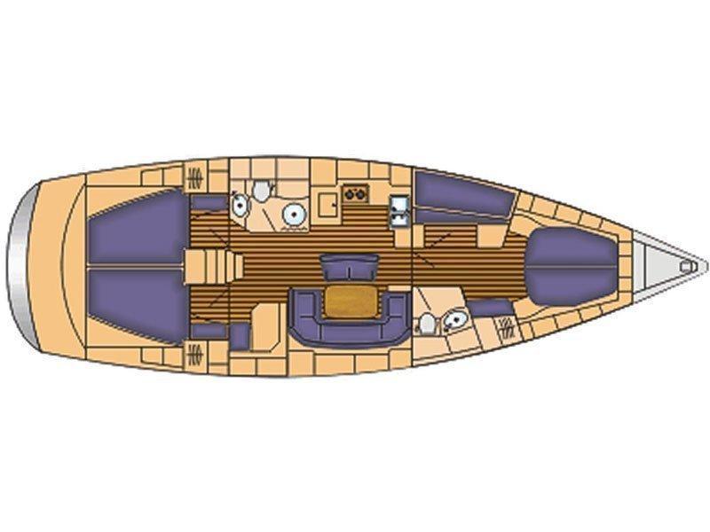 Bavaria 46 Cruiser (IRINA) Plan image - 15