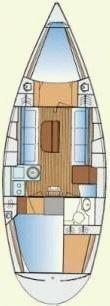 Hanse 325 (Hanse 325) Plan image - 1