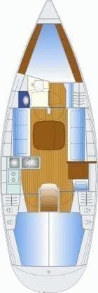Bavaria 35 C (MH 25) Plan image - 1