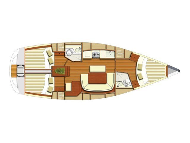 Dufour 385 Grand Large (Marta ) Plan image - 11