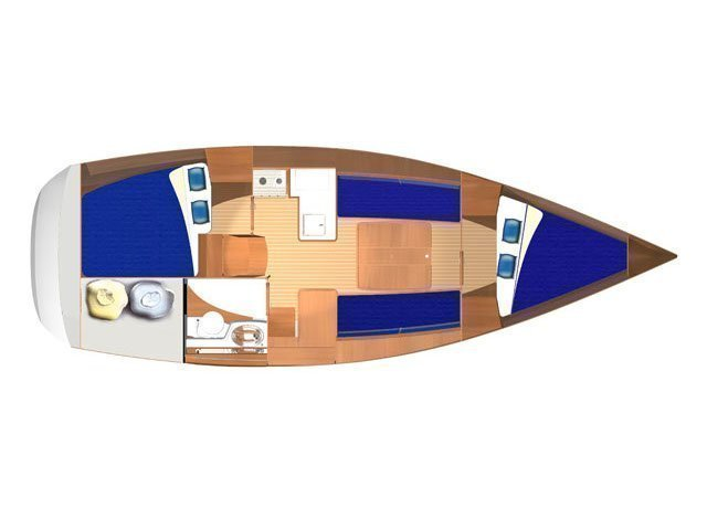 Dufour 325 Grand Large (Alma R ) Plan image - 4
