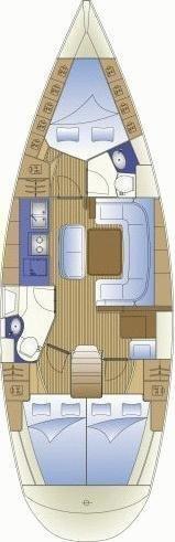 Bavaria Cruiser 41 (Nireus) Plan image - 3