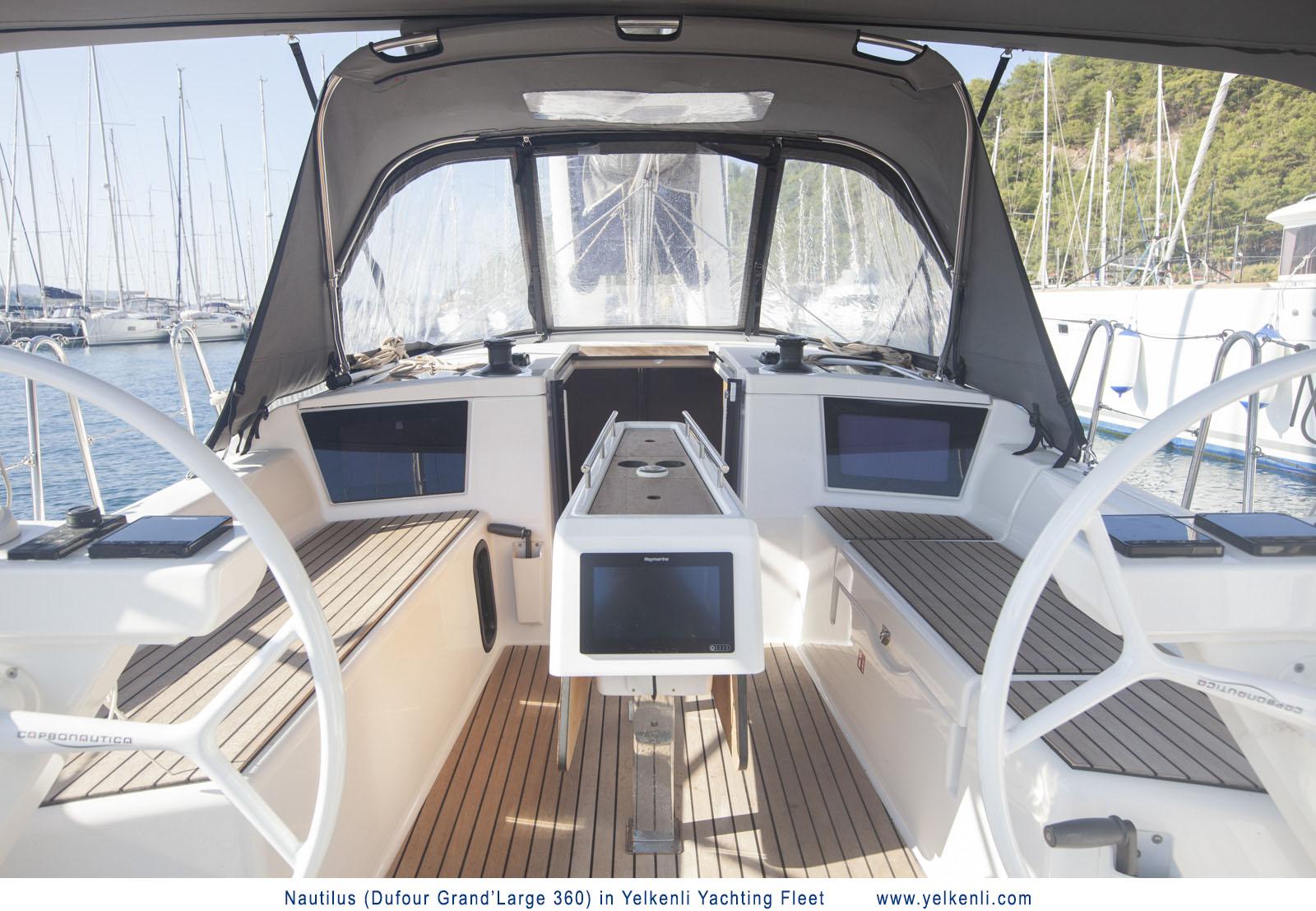 Dufour 360 GL (Nautilus) Cockpit - 26