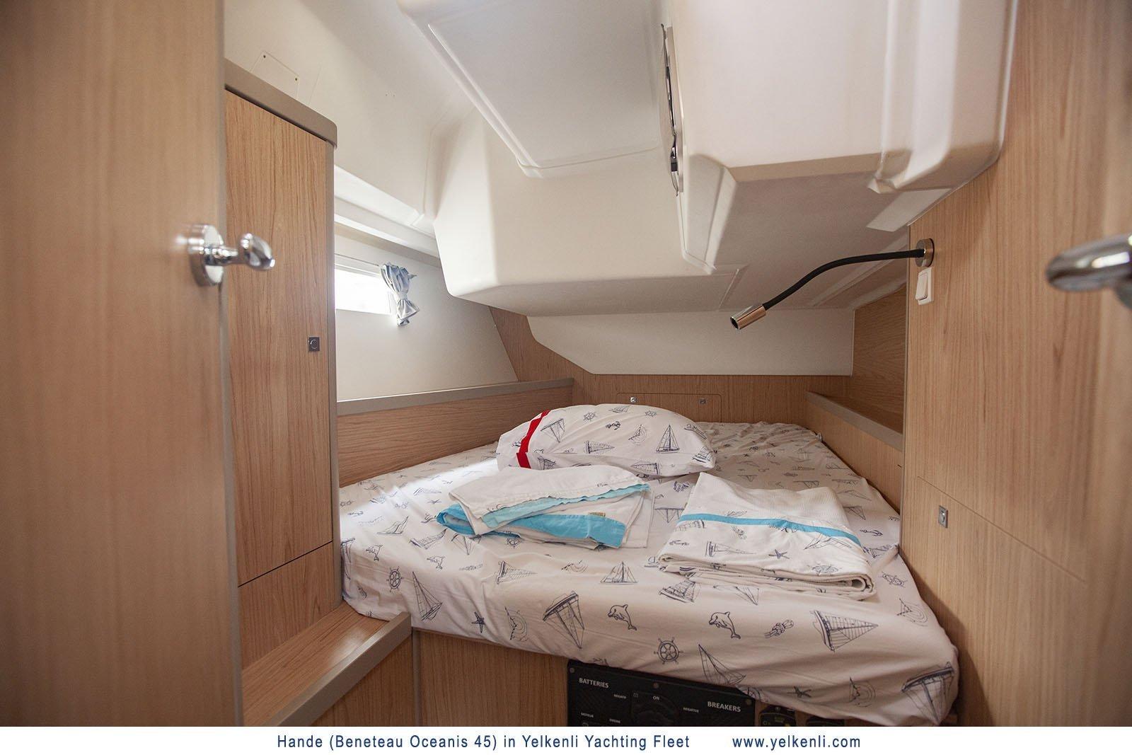 Oceanis 45 (2018) (Hande) Cabin Aft Starboard - 35