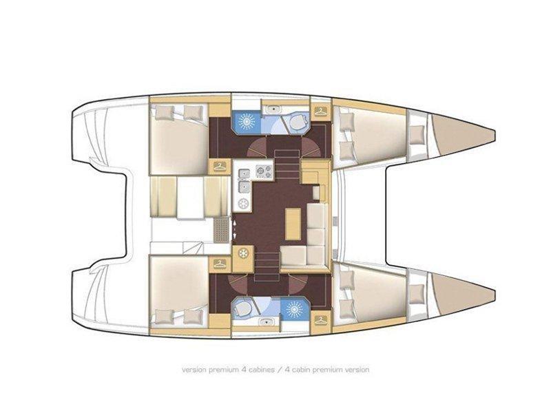 Lagoon 39 (My cat (Solar panel)) Plan image - 21
