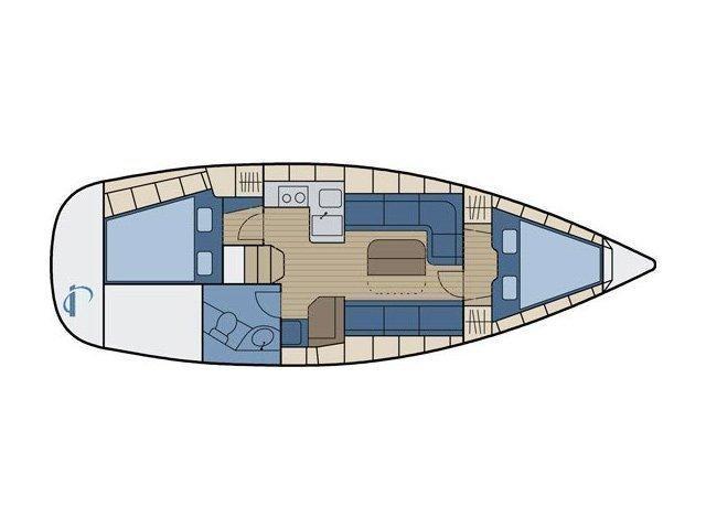 Bavaria 34 Cruiser (Nina Nina) Plan image - 6