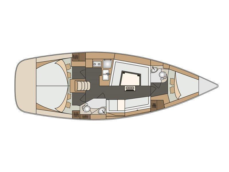 Elan 40 Impression (Vili - new sails 2021.) Plan image - 7