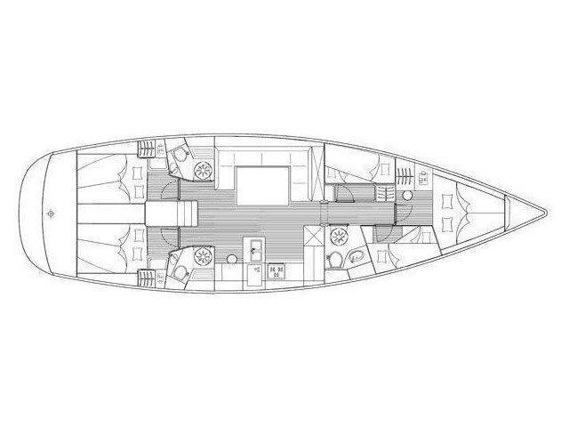 Bavaria 51 C (MH 22) Plan image - 5