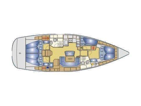 Bavaria 46 C (MH 13) Plan image - 3