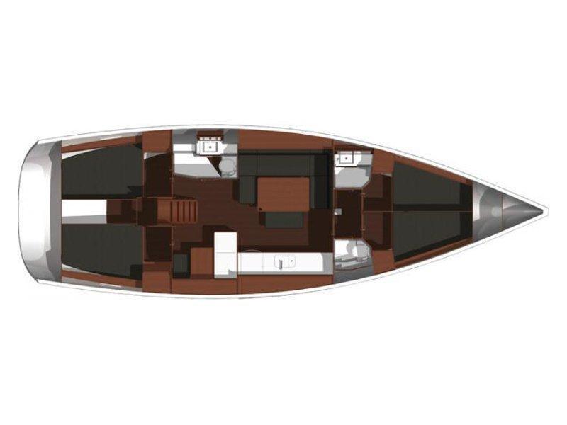 Dufour 450 Grand Large (Eroico) Plan image - 7
