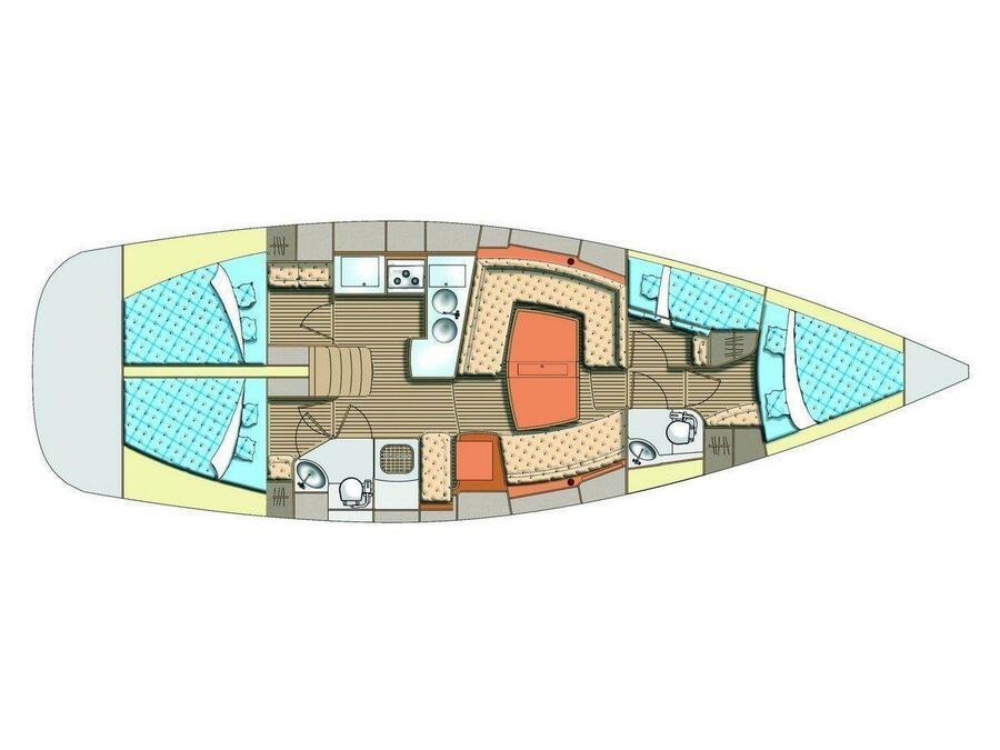 Elan 45 Impression (Jackpot) Plan image - 4
