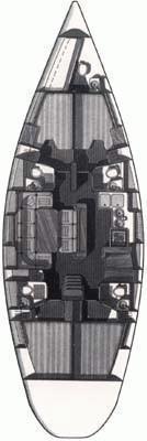 Hanse 540e (Dolce Vita) Plan image - 13