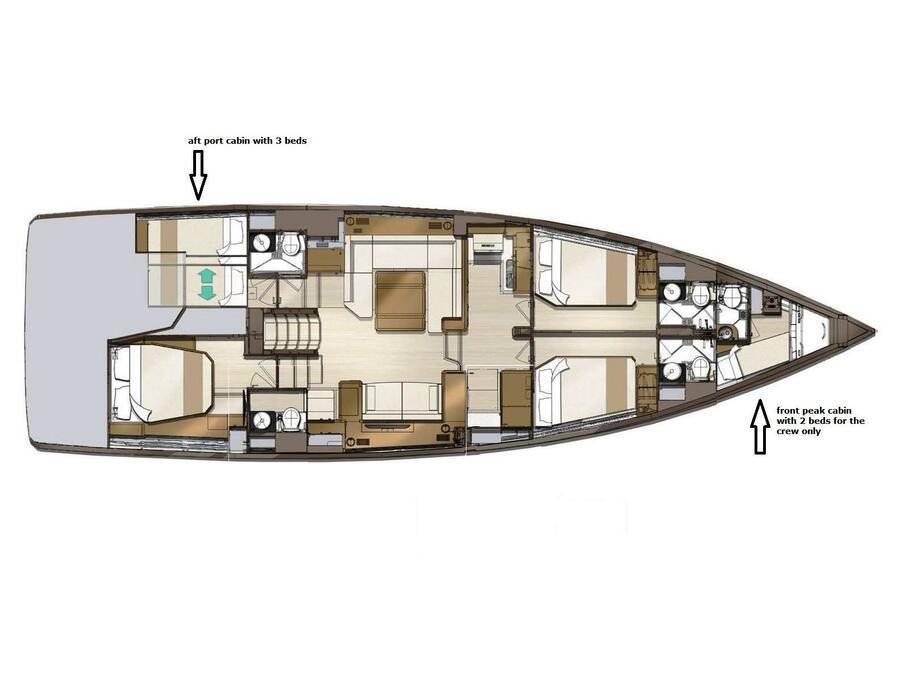 Jeanneau 60 Skippered (ath601) Plan image - 0
